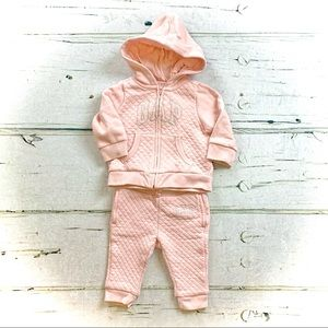 baby GAP :: Quilted Logo Sweatshirt/pants Set